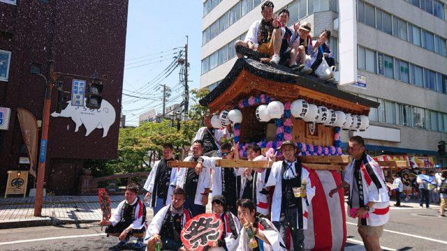 暑さもぶっ飛ばす!栄の国祭りへ参上